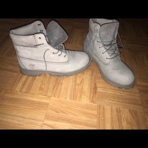 Brand new grey timberlands for sale